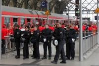Entlastungszug / Fußballsonderzug für die Anänger des 1. FC Union Berlin nach Dresden