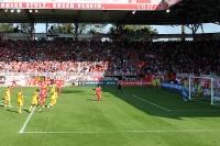 Torsten Mattuschka erzielt das 2:0 per Elfmeter gegen Alemannia Aachen
