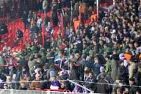 Union - Aue: Polizeieinsatz im Gästeblock