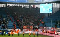 Union Berlin Fans feiern Sieg in Bochum