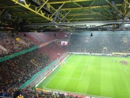 Union Berlin Fans in Dortmund Oktober 2016