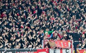 Union Berlin feiert Sieg am Millerntor