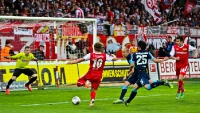 Union Berlin geht gegen Köln in Führung