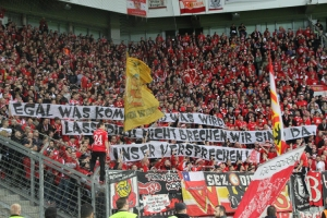 Union Berlin Spruchband