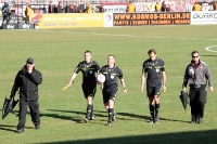 Schiedsrichtergespann um Sascha Thielert (gegen Bielefeld)