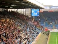Union Fans zünden Rauchbombe in Bochum