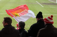 Anhänger des 1. FC Union Berlin