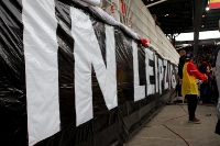 Unioner protestieren gegen RB Leipzig