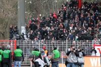Unterbrechung bei Union Berlin II vs. BFC Dynamo