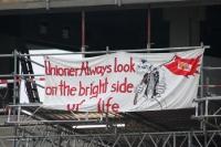 Vor Ort im Stadion An der Alten Försterei