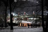 winterliches Stadion an der Alten Försterei