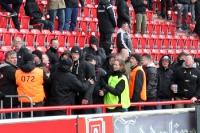 Zwischenfälle bei Union Berlin II vs. BFC Dynamo