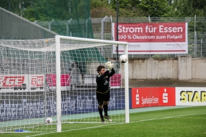 Joshua Mroß Rot-Weiss Essen vs. Alemannia Aachen Spielszenen 15-05-2021