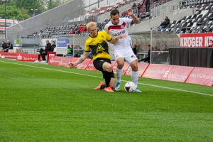 Maximilian Pronichev Rot-Weiss Essen vs. Alemannia Aachen Spielszenen 15-05-2021