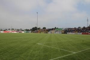 Alemannia Aachen Fans in Velber gegen Uerdingen Spielfotos 04-09-2021