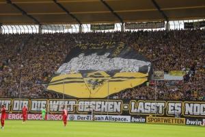 Aachen Choreo gegen Leverkusen DFB Pokal 2019
