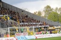 Aachen Fans Spruchband gegen Essen