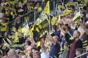 Aachen Fans Support gegen Leverkusen 2019