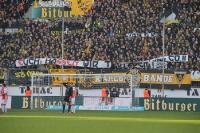 Aachen Spruchband Tradition gegen RWE