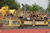 Aachener Fans jubel in Wattenscheid
