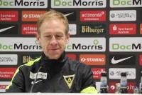 Alemannia Aachen Trainer Hans-Peter Schubert