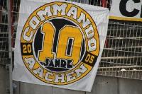 Fahne 10 Jahre Commando Aachen