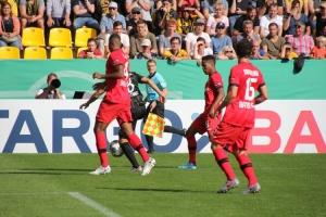 Fotos Spiel Aachen gegen Leverkusen DFB Pokal