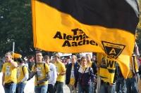 Fans von Alemannia Aachen bei der Fandemo 2010 in Berlin