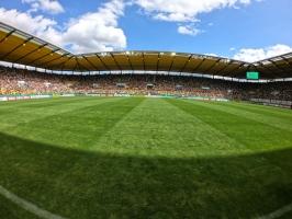 Innenraum Tivoli Stadion Aachen DFB Pokal 2019