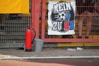 Nein zu RB Fahne und Feuerlöscher