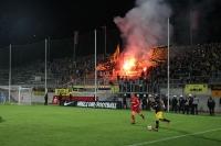 Pyroshow Aachen Ultras Fans in Wuppertal 2016
