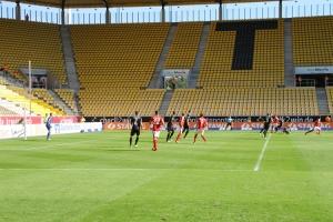 Spielszenen Aachen gegen Essen 25-09-2016