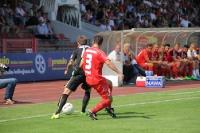 Spielszenen RWO gegen Aachen