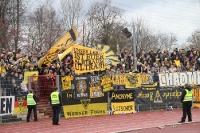 Support der Aachener Fans in Wattenscheid