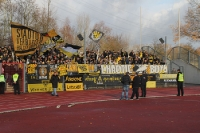 Support der Aachener Fans in Wattenscheid