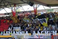Fans / Ultras von Alemannia Aachen zu Gast beim 1. FC Union Berlin