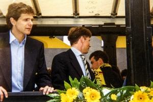 Andreas Möller bei der Meisterfeier