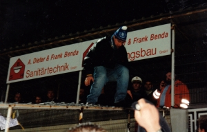 Auswärtsfahrt in den 90ern