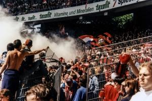 Bayer 04 Leverkusen beim 1. FC Köln