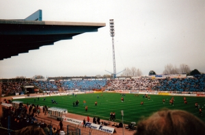 Choreo im Ostseestadion