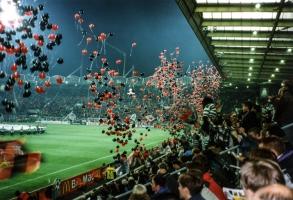 Europapokalspiel in Leverkusen