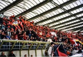 Fans von Bayer 04 Leverkusen