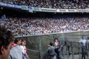 Gästeblock im Müngersdorfer Stadion