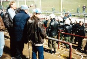 Hansa Rostock beim FC St. Pauli