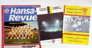 Programmhefte von 1990 und 1991