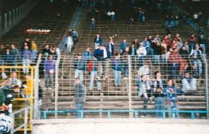 Rostock zu Gast im Zentralstadion
