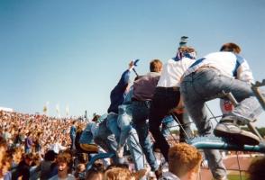 Rostocker Heimspiel in den 90ern