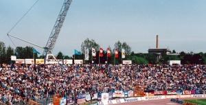 Rostocker Ostseestadion, Anfang 1990er Jahre
