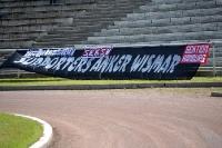 Zaunfahne der Supporters Anker Wismar