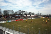 Stadion am Dallenberg des FC Würzburger Kickers